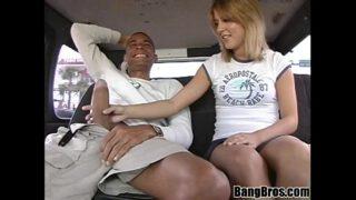 BANGBROS – Leah VS Ramon On The Bang Bus